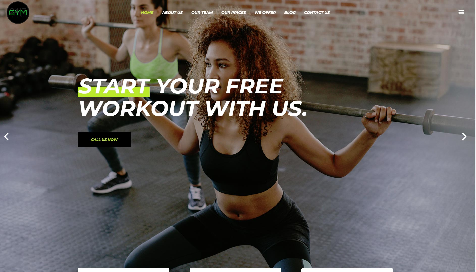 Gymotivate Website