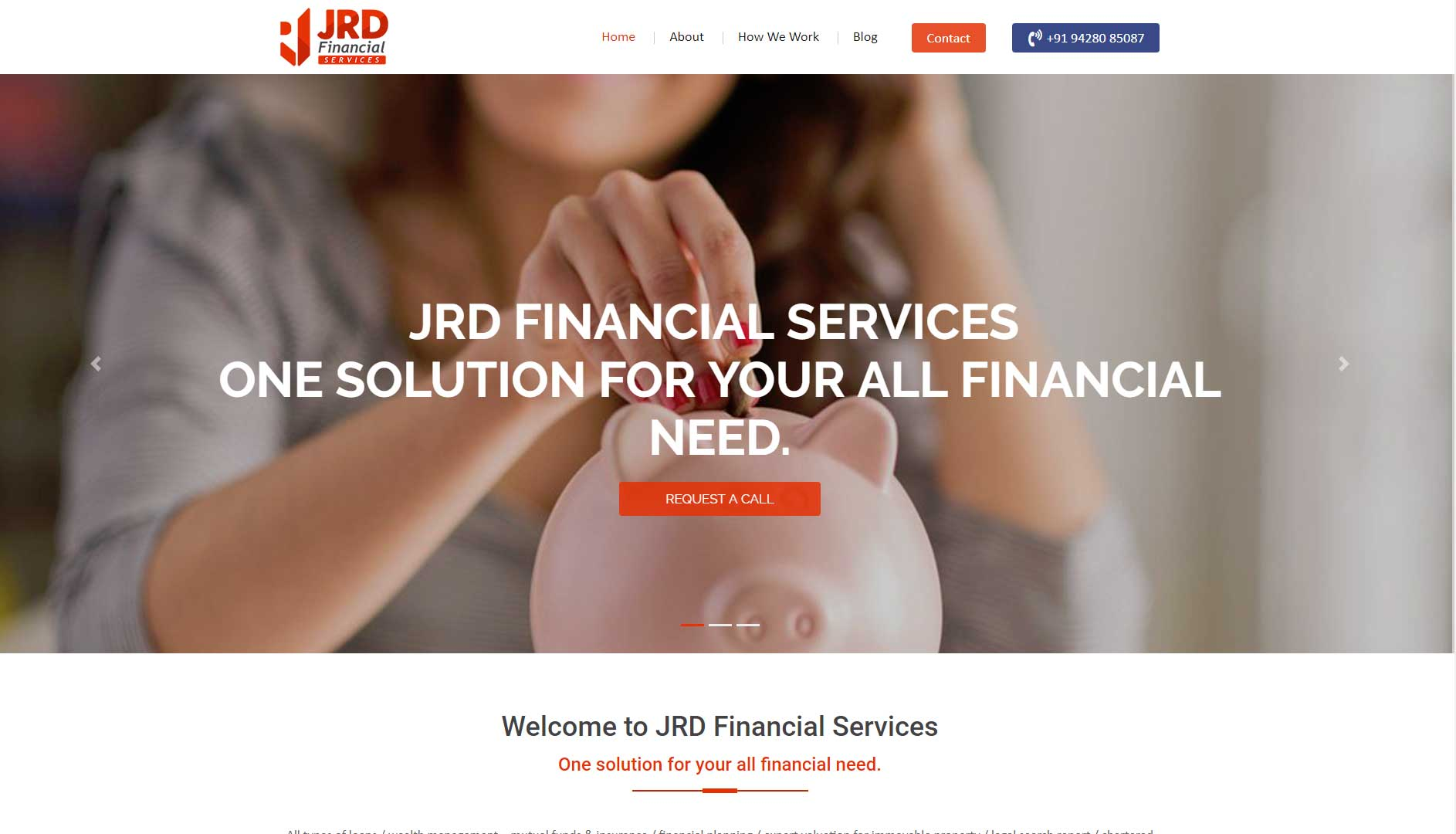 JRD Finance Website